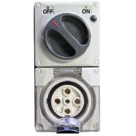 Switched Outlet | 415V, 20A