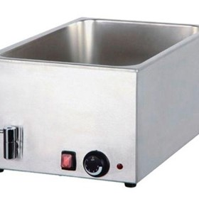 CookRite Bain Marie with Mechanical Controller and Drain