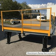 Heeve Manual Mobile Loading Dock Platform