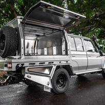 Alloy Tray & Canopy - Toyota Dual Cab