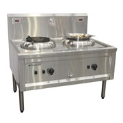 Electric Wok Cooking Table | CookTek - Double Hole