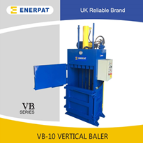 Vertical Waste Paper Balers, Mini Baler, Cardboard Press - VB-10