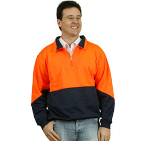 High Visibility Workwear | Fleecy Sweat