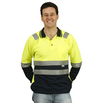 Safety Polo | Men's Long Sleeve TrueDry