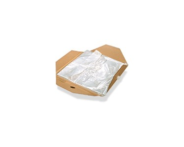 Easy-to-use bag cassettes hold food grade liners; as well as co-extruded liners for specific barrier needs, including aseptic.