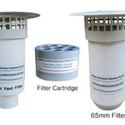 Activated Carbon Odour Vent Filter | 50 & 65mm