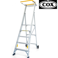 All Terrain Mobile Platform Ladder StockMaster Omni