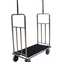 Luggage & Garment Rail Trolley | Wagen