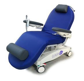 Clavia I-Line FCD Chemotherapy & Dialysis Trolley Chair