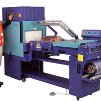 All-in-one Pneumatic L Bar Sealer & Shrink Tunnel  | P4055