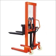 Manual Narrow Pallet Stacker 1Ton