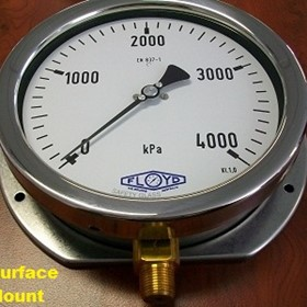 Liquid Filled Gauges - Glycerine or Silicone Oil