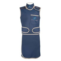 Barrier Flex Top & Skirt Radiation Apron with Velcro Straps