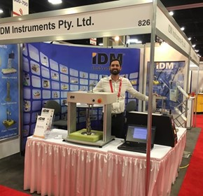 IDM Instruments exhibits at UTECH 2018