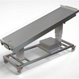 Trolley Electric Height Adjustable - For Mobile Body Processing