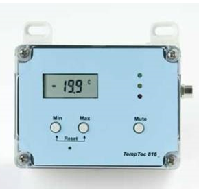 Temperature Data Logger with External Thermistor | SensorTemp Tec 816