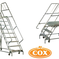 Turner Mobile Work Platforms & Shelfmate Shelf Access Ladders
