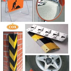 Vehicle and Parking Control - Safety Bollards | Sold by R.J. Cox