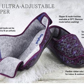 Emma Ultra Adjustable Slipper