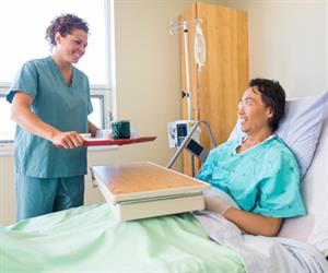 Adjusting the height of the hospital bed also increases the ease of health professionals to access patients and allows them to provide an improved level of care.