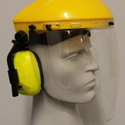 Browguard Extra High Impact Anti Fog Visor and Earmuffs