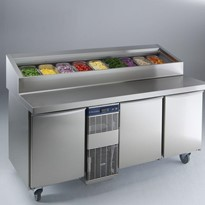 Electrolux | Saladette Display Fridges - 440L, 3 Doors