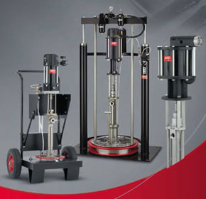 IR ARO Piston & Extrusion Pumps