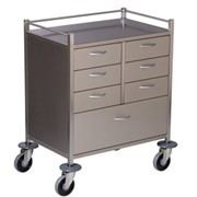 Resuscitation Trolley | Stainless Steel | Deluxe