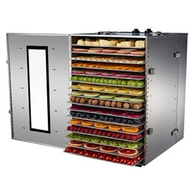 16 Tray Premium Commercial Food Dehydrator | 16-CU
