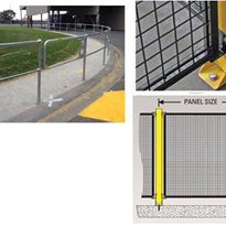 Pedestrian Control Barrier Systems - Supplied by R.J. Cox Engineering
