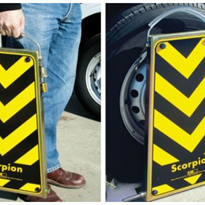 Scorpion Wheel Clamp - Trailer, Car, Caravan, Boat Security