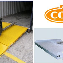 Container Access Ramps for Forklifts