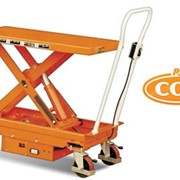 Battery Powered Electric Scissor Lift Table - Supplied by R.J. Cox Engineering