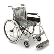 GLIDE Amputee Durable Stainless Steel Self Propelled Manual Wheelchair