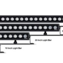 Roadvisions Rollar Series Single Row Light Bar RBL220C