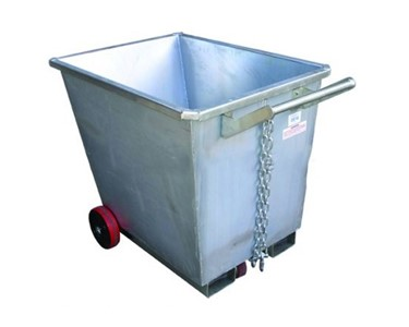 CFS Fork Skip Bins are manufactured from 2mm plate