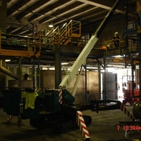Tight Access Cranes for Hire with Operator Sydney / NSW