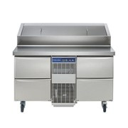 Refrigerated Counter Heavy Duty Saladette, 290lt on Wheels