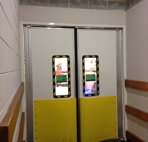 Traffic Swing Doors | DMF