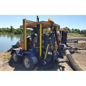 Dewatering Pumps I Trailer-Mounted Pumps