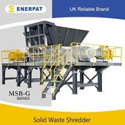 Enerpat Commercial Aluminum Extrusion Two Shaft Shredder | MSB-G1200M
