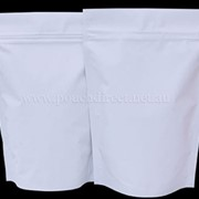 Pouch Direct | Shiny White Stand Up Pouch with Zipper