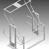 Pallet Safety Gate - Custom Made for Mezzanine