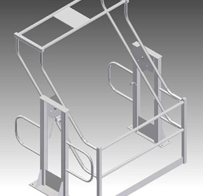 Custom Made Mezzanine Pallet Safety Gates