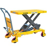Manual-assist Mobile Single Scissor Lift trolley 800kg | SLM800L