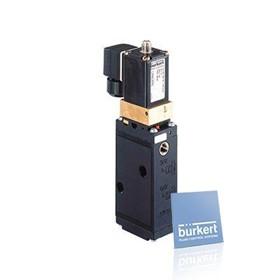 servo assisted 5/2, 5/3 or 3/2 way Solenoid Valve - Type 6519