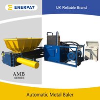 Scrap Aluminium Balers with UK Brand | Metal Baling Press Machine