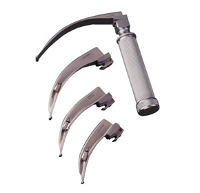 Laryngoscope Stainless Steel Set | Mcintosh