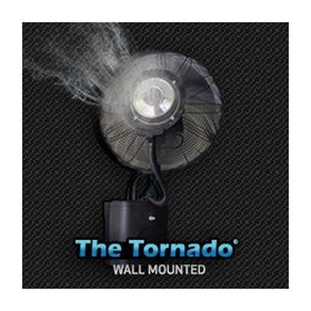 Misting Fan | Wall Mount Fan Tornado 66cm
