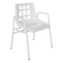Extra Wide Steel Shower Chair